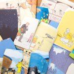 封筒(ポチ袋)作り〜廃棄本を使って