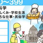 日本十進分類表のイラスト(3段ラベル用)